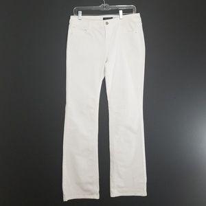 WHBM white Jean's size 6R